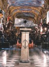 Gli allestimenti odierni. Fotografia tratta da Caldera, Guerrini, Vitulo, L'Armeria Reale, la Biblioteca Reale, Allemandi, Torino, 2008