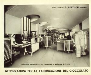 Confetteria Pasticceria Pfatisch, antica immagine del laboratorio