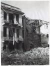 Ospedale San Giovanni Battista (delle Molinette), Corso Donato Bramante. Effetti prodotti dai bombardamenti dell'incursione aerea dell'8-9 dicembre 1942. UPA 2832_9D01-46. © Archivio Storico della Città di Torino