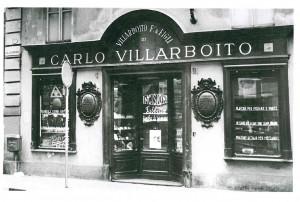 Villarboito, tipografia, vista esterna, 1946-1950, (riproduzione da libro: L. Artusio, M. Bocca, M. Governato, 2002, p. 144, n. 272)