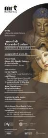 Invito alla conferenza stampa della mostra I mondi di Riccardo Gualino collezionista e imprenditore