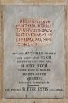Epigrafe funeraria di Anteria, da piazza san Giovanni