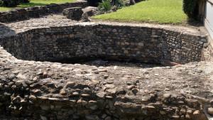 I resti della torre delle mura romane presso il teatro romano. Fotografia di Plinio Martelli, 2010. © MuseoTorino