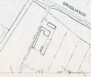 Cascina Tre Tetti Nigra. Istituto Geografico Militare, Pianta di Torino, 1974. © Archivio Storico della Città di Torino