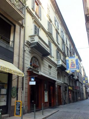 Via San Tommaso 10. Fotografia di Paola Boccalatte, 2014. © MuseoTorino