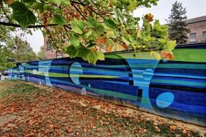 Wens e Reser, Acqua, 2014, giardini Schiapparelli, lungodora Savona