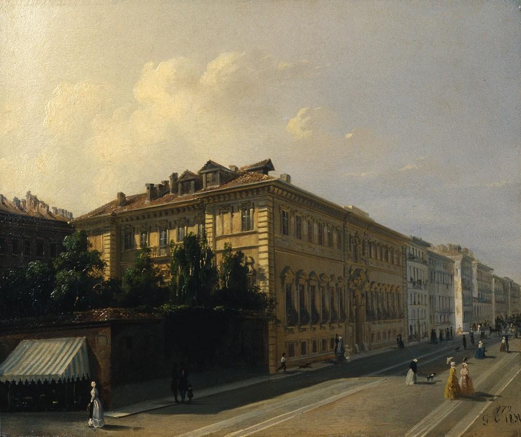 Giuseppe camino torino 1818 caluso 1890 museotorino for Casa moderna torino