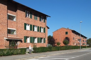 Il quartiere La Falchera (3). Fotografia di Fabrizia Di Rovasenda, 2010. © MuseoTorino.