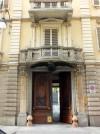 Via Della Rocca 38, portone d'ingresso. Fotografia di Paola Boccalatte, 2014. © MuseoTorino