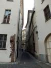 Vicolo tra piazzetta Viglongo e piazzetta dei maestri minusieri. Fotografia di Paola Boccalatte, 2014. © MuseoTorino