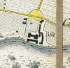 Cascina Mirafiori. Antonio Rabbini , Topografia della Città e Territorio di Torino, 1840. © Archivio Storico della Città di Torino