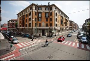 Veduta del 17° Quartiere IACP. Fotografia di Michele D'Ottavio, 2011. © MuseoTorino
