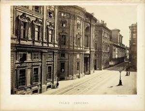 Palazzo Carignano. Fotografia di H. Le Lieure. © Archivio Storico della Città di Torino