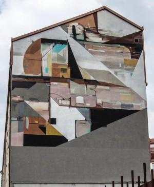 Kofie One, murale senza titolo, Festival PicTurin 2012, Istituto Richelmy