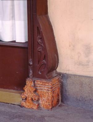 Emporio Gastronomico, particolare dell'esterno, 1998 © Regione Piemonte