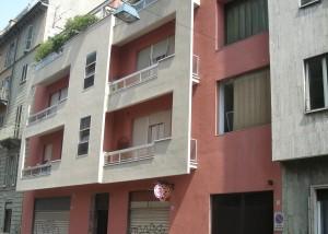 Edificio di civile abitazione già tipografia Camiciotti e fabbrica Bosione, via Susa 2