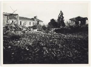 s.l. (Via Lancia?). Effetti prodotti dai bombardamenti dell'incursione aerea del 18-19 novembre 1942. UPA 1568_9A05-45. © Archivio Storico della Città di Torino