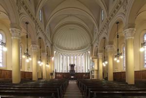 Giuseppe Formento, Tempio Valdese (interno della chiesa), 1853. Fotografia di Fabrizia Di Rovasenda, 2010. © MuseoTorino.