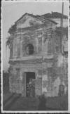 Cappella della cascina Brune posta in via Paisiello, fotografata nel 1944. Archivio privato
