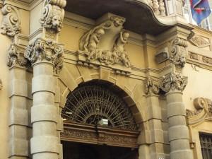 Palazzo Lascaris, via Alfieri 15, particolare del portale. Fotografia di Paola Boccalatte, 2014. © MuseoTorino