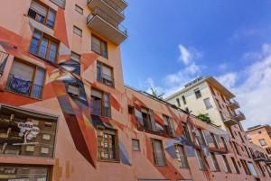 Vesod, murale sul Buena Vista Residence, 2012, via Giordano Bruno