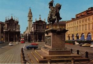 Carlo Marocchetti, Monumento a Emanuele Filiberto, 1838