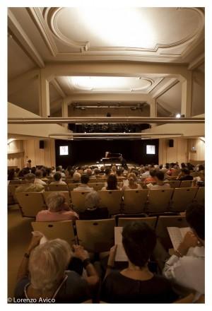 Sala del Teatro Vittoria. Fotografia di Lorenzo Avico, 2011. © MITO SettembreMusica