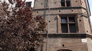 Casa Broglia (già Albergo della Corona Grossa, particolare, 2). Fotografia di Plinio Martelli, 2010. © MuseoTorino.