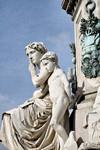 Monumento a Camillo Benso Conte di Cavour (particolare). Fotografia di Mattia Boero, 2010. © MuseoTorino