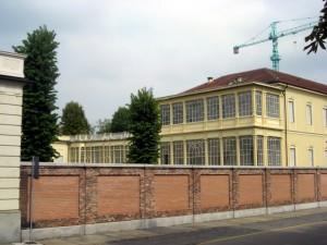 Ex Ospedale Militare Riberi. Gli edifici del Campus da corso IV novembre. Fotografia di Silvia Bertelli, 2011