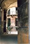 Casa Siccardi, androne. Fotografia, 2007 © Biblioteche civiche torinesi