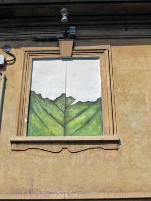 Opera murale per il MAU Museo Arte Urbana. Fotografia di Alessandro Vivanti, 2011
