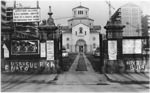 Chiesa della Visitazione nei primi anni Settanta© Archivio Storico della Città di Torino (FT 13D24_032)