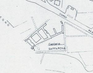 Cascina Saffarona. Istituto Geografico Militare, Pianta di Torino, 1974. © Archivio Storico della Città di Torino