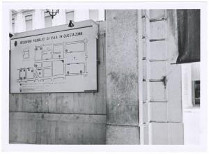 [Via Roma, oggi piazza CLN], pianta dei Ricoveri Pubblici di Protezione Antiaerea del centro città. UPA 9F01-41. © Archivio Storico della Città di Torino