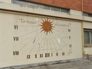 Orologio solare, Liceo Scientifico Gino Segrè