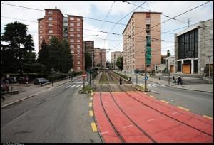 Veduta del quartiere da viale dei Mughetti. Fotografia di Michele D'Ottavio, 2011. © MuseoTorino