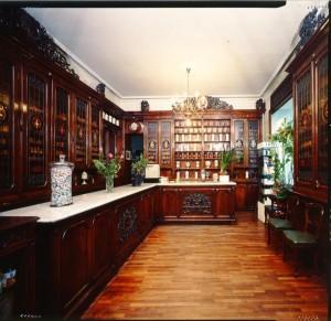 Regia Farmacia XX Settembre, già Schiapparelli, interno, 1998 © Regione Piemonte