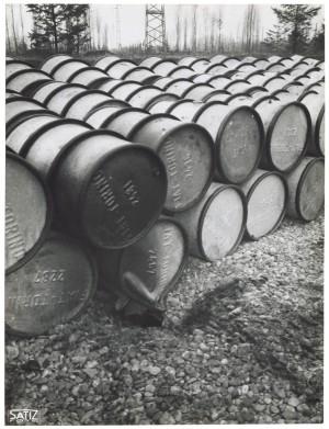 FIAT Autocentro - Stabilimento di Mirafiori. Effetti prodotti dal bombardamento dell'incursione aerea del 20-21 novembre 1942. UPA 2202_9B06-47. © Archivio Storico della Città di Torino