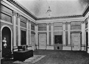 Accademia Albertina, Salone, 1930 circa