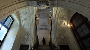 Palazzo Reale, Scala delle Forbici. Fotografia di Paolo Mussat Sartor e Paolo Pellion di Persano, 2010. © MuseoTorino-Soprintendenza per i Beni Architettonici e Paesaggistici del Piemonte