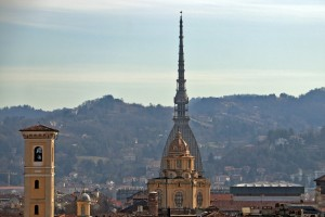 Veduta da una terrazza di via Corte d'Appello. Fotografia di Gianluca Platania, 20 febbraio 2020