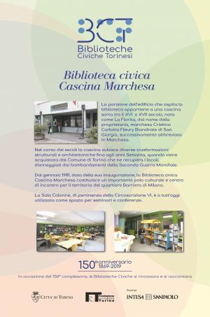 1869-2019. Biblioteca civica Cascina Marchesa