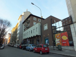 Edificio in strada del Fortino 28, già cinema teatro Fortino
