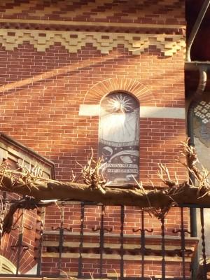 Orologio solare, palazzina Corso Moncalieri 253