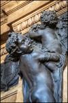 Baratti & Milano, particolare rilievo di E. Rubino all'esterno, 2016 ©Archivio Storico della Città