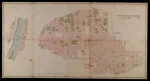 Copia della Carta dell'interiore della città di Torino che comprende ancora il Borgo di Po (1762 circa)