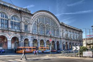 Stazione di Porta Nuova. Fotografia di Mattia Boero, 2010. © MuseoTorino