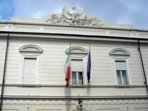 Ex Ospedale Militare Riberi. Particolare della palazzina della direzione. Fotografia di Silvia Bertelli, 2011