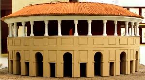 Plastico del Cisternone della Cittadella di Torino. Immagine tratta da depliant pubblicato dal CeSRAMP
